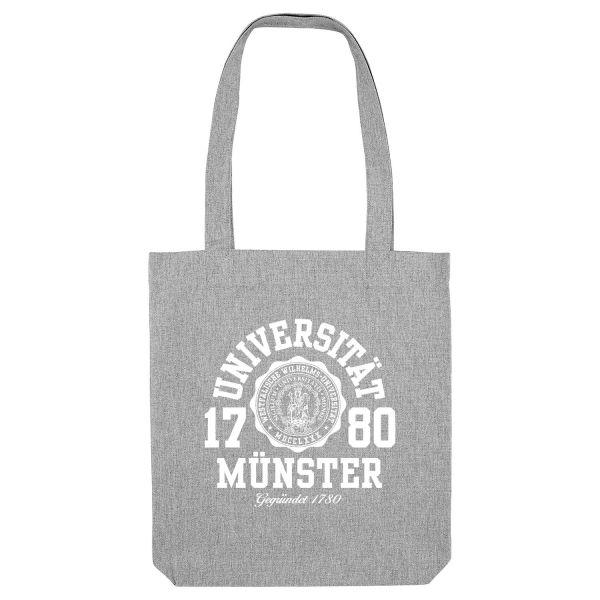 Organic Tote Bag, heather grey, marshall