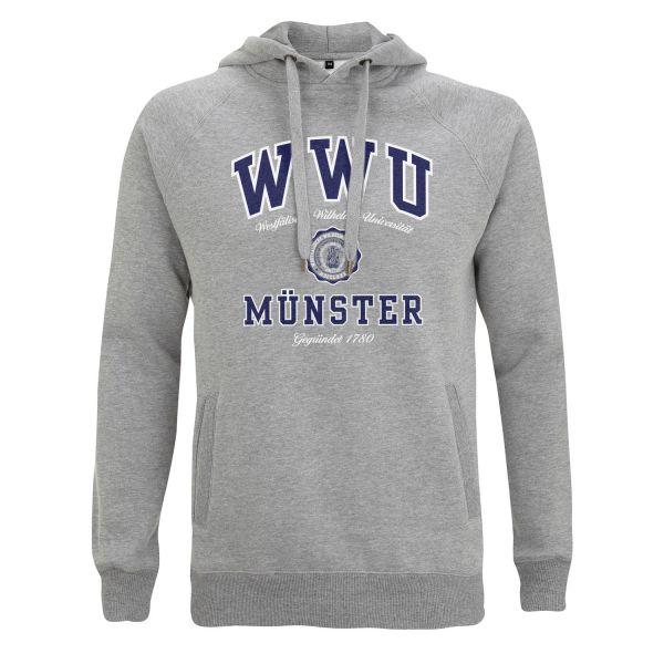 Unisex Style Hooded Sweatshirt, heather grey, texas