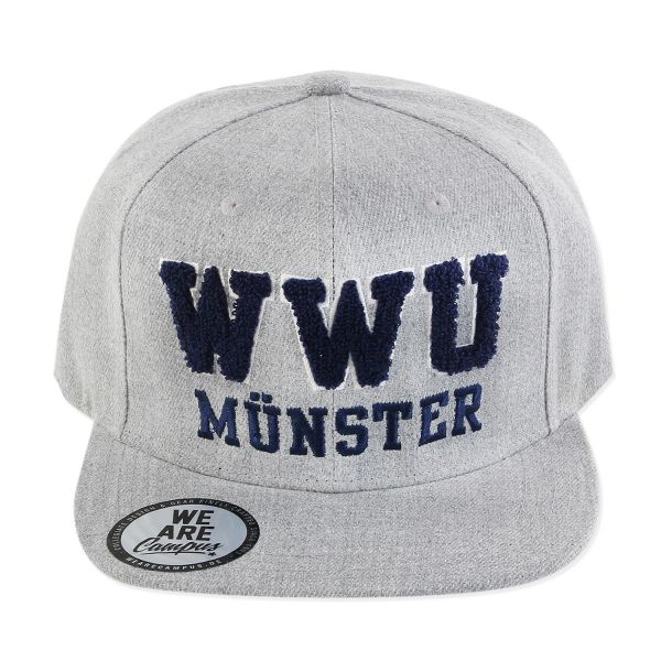 Campus Cap, heather grey, WWU