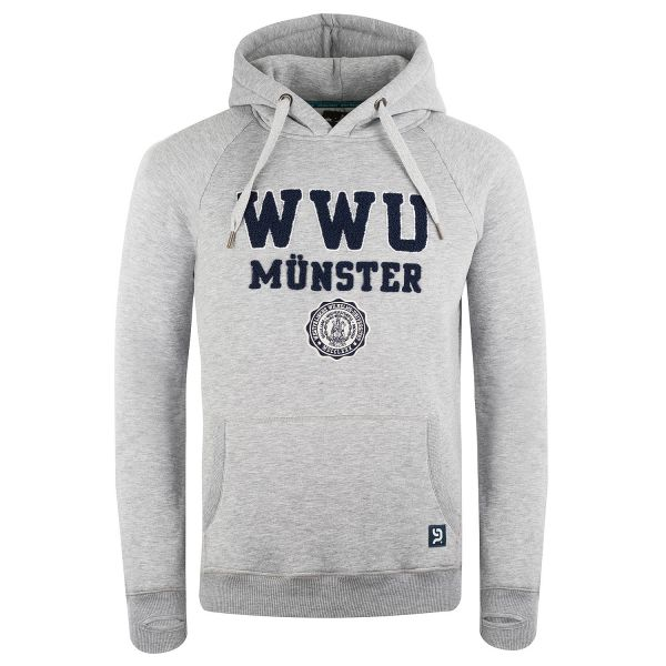 Limited Hooded Sweatshirt, heather grey, exclusive