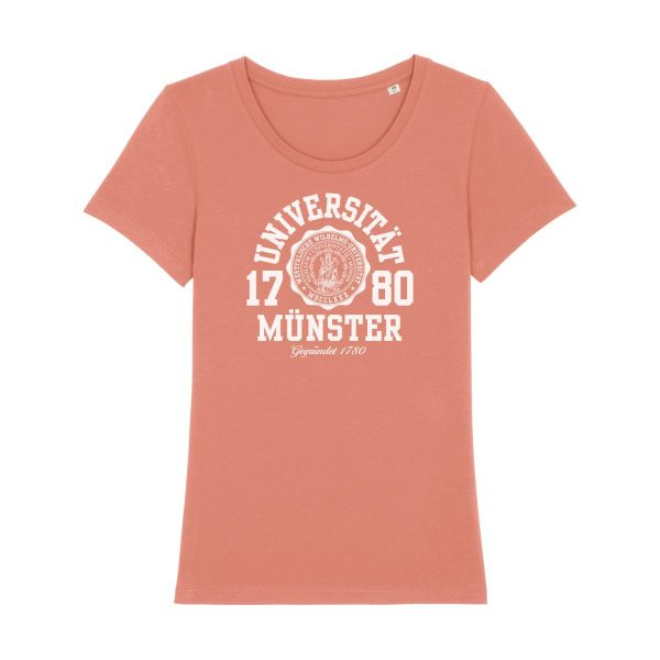 Damen Organic T-Shirt, rose clay, marshall
