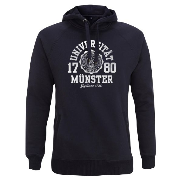 Unisex Style Hooded Sweatshirt, navy, marshall
