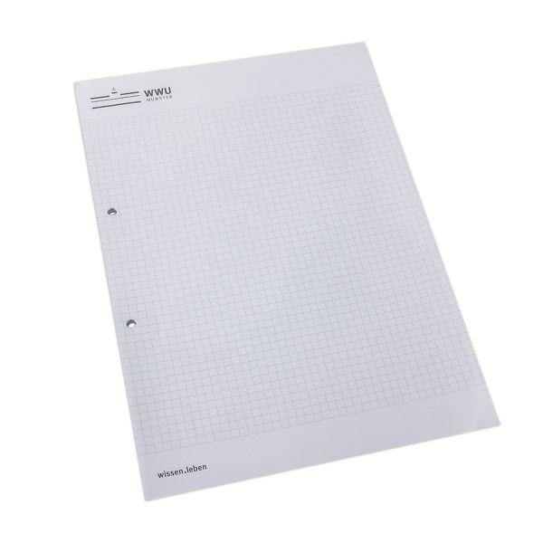Block DIN A4, corporate, 25 Blatt