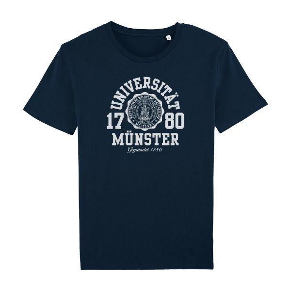 Unisex Organic T-Shirt, navy, marshall